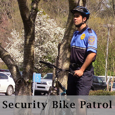 Atlanta security bike patrol services