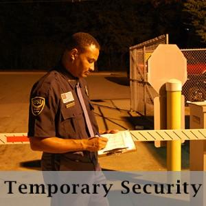 Temporary security services in Atlanta GA
